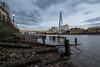 275/365 (Spannarama) Tags: 365 october thames river foreshore evening twilight dusk clouds londonbridge shard timbers lowtide london uk