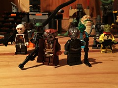 Finally, Zuckuss (Lord Allo) Tags: lego star wars bounty hunters zuckuss 4lom dengar boba fett furlag greedo bossk ig88