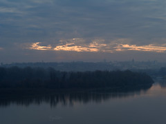 _PS19586 (pouyan_safavi) Tags: river sky clouds sunset travel citys belgrade serbia bluesky