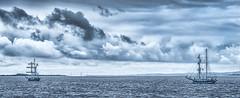 Tall ships on the Severn (Matt Bigwood) Tags: ship tallships riversevern severn nikon d750 severnestuary gloucestershire