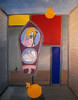 Gesù e Mondraian - Artist: Leon 47 ( Leon XLVII ) (leon 47) Tags: abstract painting metaphysical enigma metafisica metaphysics surrealism surrealismo art arte astratta minimalism minimalismo individualismo individualism individuality umanismo humanism gesù piet mondraian leon 47 xlvii