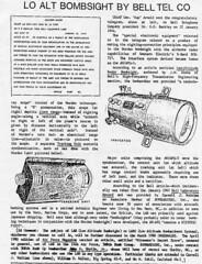 Low Altitude Bombsight (International Historical Research Associates) Tags: lowaltitudebombsight wwii radar technology worldwar2 ww2 worldwarii history
