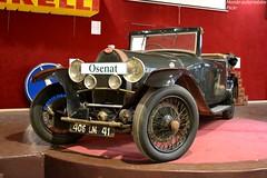 Bugatti Type 44 1928 (Monde-Auto Passion Photos) Tags: voiture vehicule auto automobile bugatti cabriolet convertible roadster spider ancienne classique rare rareté collection vente enchère osenat france fontainebleau