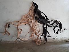 work in progress (Ines Seidel) Tags: wip workinprogress news newspaper paper paperart wire financialtimes black pink zeitung zeitungspapier draht