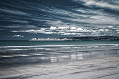 Lines (Hanna Tor) Tags: nature naturallight sea seascape water wave ocean beach shore shoreline sky clouds trip travel newzealandhannatorlandscapenature