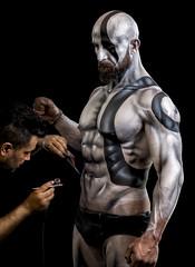 Body Art & Body Building (R.o.b.e.r.t.o.) Tags: romics 2018 roma rome cosplay cosplayer bodybuilding bodyart culturista culturismo artedelcorpo dipinto modello model artist artista italia italy uomo man ritratto portrait costume bodybuilder bodypaint