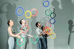 Spring - Gandini Juggling and Alexander Whitley (DanceTabs) Tags: dance juggling circus gandinijuggling alexanderwhitley choreography theatre colours artsdepot london spring performance