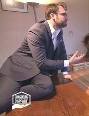 Matthieu (jeanmarc.tummy) Tags: matthieu suit young bart bear beard bordeaux chasseursdappart france tv charming