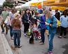 Circle Of Attention (-Dons) Tags: austin austinfarmersmarket texas unitedstates dog tx usa farmersmarket tricycle tent