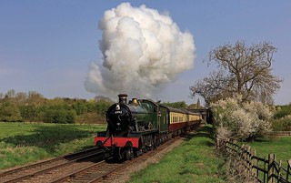 Great Central Railway Loughborough Leicestershire 21st April 2018
