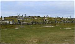 Island cemetery (catb -) Tags: clifden galway omey island cemetery graveyard beach strand tide cross