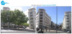 Postal Antes e Depois | CMBA | 2006-2007 (sosbairroazul) Tags: lisboa bairroazul sãosebastiãodapedreira antesedepois