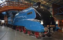 """Gresley LNER A4 4-6-2 4468 """"Mallard"""" at the NRM York (colin9007) Tags: lner gresley a4 york nationalrailwaymuseum nrm 4468 60022 mallard"""