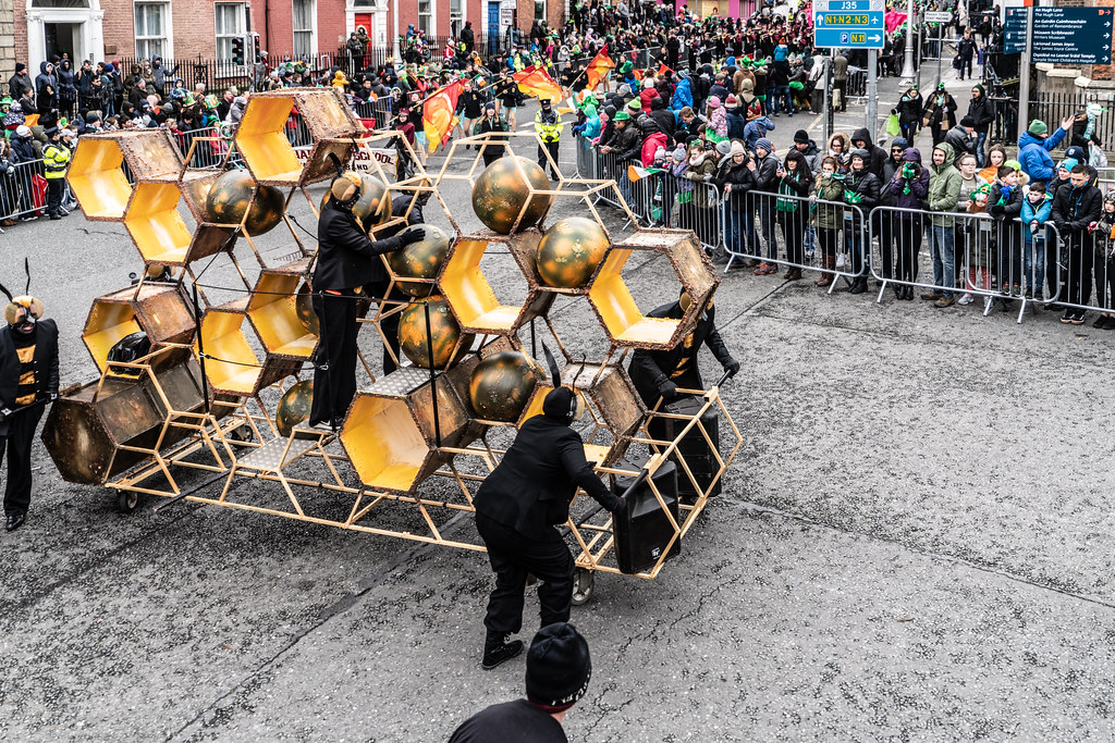 INSECTOPIA BY SPAORI [DUBLIN PARADE 17 MARCH 2018]-137730