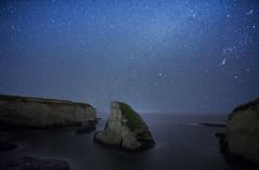 Shark Fin Cove (rashnarazdan) Tags: shark california ocean pacific stars