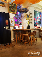 Grand Café Van Gogh in Bucharest