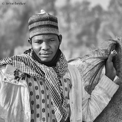 Man and his Horse (Irene Becker) Tags: arewa durbar kaduna kadunastate murtalamuhammedsquare nigeria northnigeria westafrica celebration centenary northernnigeria people photograph outdoors realpeople developingcountries africanethnicity cultural day traveldestination street communication beauty pride hausa timetravel festival parade blackandwhite monochrome