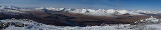 Panorama west from Beinn a Dothaidh