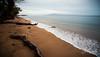 Solitude (Sean Daniel) Tags: beach hawaii maui ocean pacificocean sand aurorahdr ccg clouds hdr kaanapali log markii usa waves