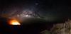 Milky way and Erta Ale Volcano (Stéphane Laumont) Tags: afar éthiopie et milky way erta ale volcano volcan voie lactée étoile stars vallée du grand rift ethiopia