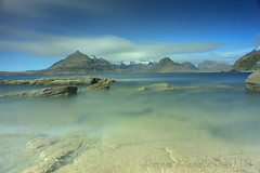 15 mins of calm (SkyeBaggie) Tags: elgol skye scotland cuillin isleofskye hebrides highlands seascape landscape longexposure long exposure firecrest 16 stop lee