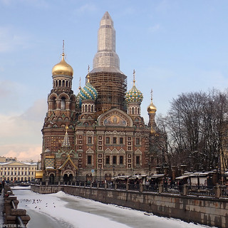 Temple Of The Savior On Spilled Blood