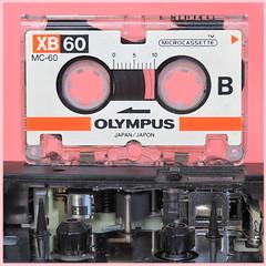 Microcassette & Capstan Drive (Thomas Rausch (!)) Tags: macromondays backintheday microcassette olympus mc60 voicerecorder diktiergerät anrufbeantworter capstan focusstack picolayexe rarität altetechnik tape nostalgie