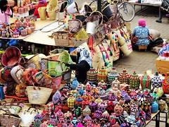 Marché aux vanniers (Des Goûts et des Couleurs) Tags: maroc morocco marrakech souks marché market vanniers paniers femme couleurs colors travel voyage afrique africa ville city