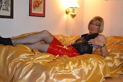 DSC_0040 (magda-liebe) Tags: travesti tgirl french crossdresser highheels stockings fishnets fishnet