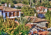 Sirince, Turkey-2 (albyn.davis) Tags: turkey sirince buildings houses homes trees colors green brown rooftops travel architecture