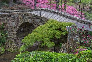 The stone walking bridge