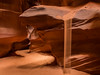 Sand Falling over the Bear (Nancy King Photography) Tags: slotcanyon navajoreservation sand antelopecanyon nature arizona sandfall canyon sandstone rocks