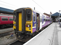153324 (Rob390029) Tags: northern rail 153324 class 153 doncaster railway station don train track tracks rails travel travelling transport transportation transit ecml east coast mainline