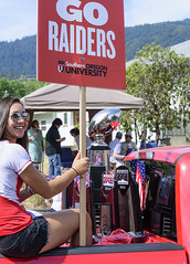 Go Raiders! (acase1968) Tags: ashland 4th july parade sou southern oregon university raiders kiley barcroft d750 nikon nikkor 70300mm