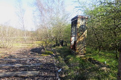 Former railway groundwork at Catcliffe, Sheffield  (Former SDR route)   April 2018 (dave_attrill) Tags: catcliffe sheffield railway line disused trackbed remains goods sdr ballast groundwork april 2018 sheffielddistrictrailway southyorkshire