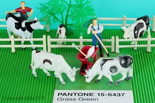 PANTONE 15-6437 Grass Green