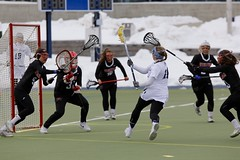 Stop her, she's gonna shoot! (stephencharlesjames) Tags: womens sport college sports ball stick lacrosse action middlebury vermont wesleyan ncaa