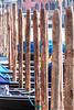 Venetion parking lot (cstevens2) Tags: venice italy bollards travel venetië italië meerpalen boats boten city