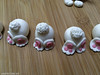 Easter cupcakes with gum paste toppers (pointykittyorg) Tags: gumpaste cupcakes decorations easterbunny toppers sculpted