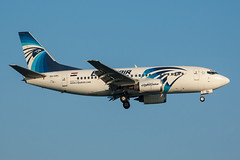 SU-GBL - Egyptair - Boeing 737-566 (5B-DUS) Tags: sugbl egyptair boeing 737566 737500 b735 lca lclk larnaca larnaka international airport aircraft airplane aviation cyprus flughafen flugzeug planespotting plane spotting