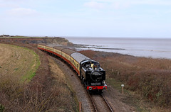 9466 along the coast (Andrew Edkins) Tags: 9466 panniertank tankengine railwayphotography travel trip seaside water westsomersetrailway passenger march 2018 spring preservedrailway geotagged canon doniford haltstation greatwestern gwr england uksteam