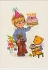 Иностранная (odalia21) Tags: иностранная мальчик мишка торт