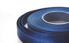Layers of blues (velvetmeadow) Tags: blue blues macromondays theblues macro abstract texture circle layers ribbon contrast highkey velvetmeadow