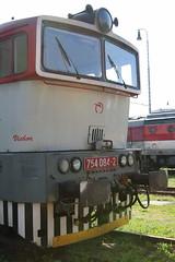 754084 @ Zvolen Depot - Slovakia (uksean13) Tags: 754084 zssk zvolen slovakia canon 760d ef28135mmf3556isusm train railway locomotive diesel