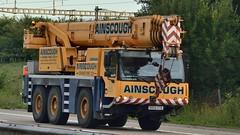 GB - Ainscough Liebherr (BonsaiTruck) Tags: ainscough liebherr kran autokran mobilkran crane cranes grue lifter