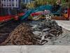 CBD & South East Light Rail - George Street, Haymarket - Update 4 April 2018 (1) (john cowper) Tags: cselr sydneylightrail haymarket haystreet ultimoroad track tracklaying excavator excavations transportfornsw acconia sydney newsouthwales