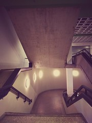 #architecture #interior #stairs #staircase #lamps #concrete #light #berlin #internationalcongresscenter #icc #europe #send (claudio-g-c) Tags: europe berlin stairs light internationalcongresscenter architecture lamps interior staircase icc concrete send