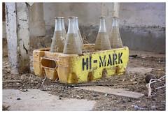 Hi-Mark (~ veronicajwilliams photography ~) Tags: veronicajwilliamsphotography veronicajwilliams copyrighted bottles southaustralia abandoned abandonedbuilding cocacola himark dusty old fuji fuji18135 fujixt20 fujifilm fujiaustralia fujifilmxt20
