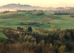 From Crealto (momentcollection) Tags: panorama landscape vineyards villages italy piedmont monferrato spring vineyard piemonte farmhouses