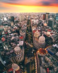 Diagonal Norte - Avenida Roque Sáenz Peña (deensel) Tags: drone dji mavic mavicpro aerial aerialphotography cityscape buenos aires argentina